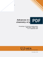 Advances in Radiation chemistry of polymers