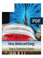 motion and energy extension 9