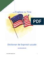 Dictionar Expresii in Limba Engleza