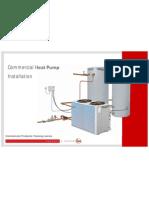 Commercial Heat Pump Installation - Sample