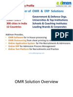 admen - OMR scanning services