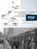 Evolutionary Change in Motion Event Encoding in Indo-European