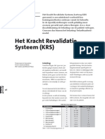 KRSportgericht Het Kracht Revalidatie Systeem KRS