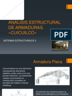 ANÁLISIS ESTRUCTURAL DE ARMADURAS