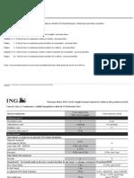 Taxe Comisioane ING