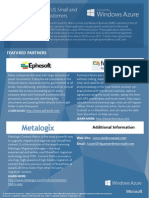 Windows Azure SMB Cosell Datasheet
