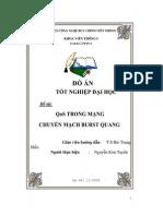 Đề tài Qos trong mạng chuyển mạch burst quang - Luận văn, đồ án, đề tài tốt nghiệp