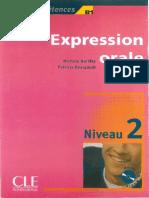 Expression Orale - Niveau 2