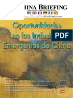 Oportunidades en las Industrias Emergentes de China
