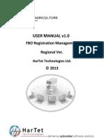 FBO User Manual Regional