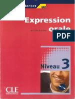 expression+Oral - Niveau 3