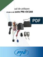 Manual de Utilizare Alarma Auto PNI OV288