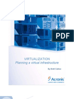 Virtualization. Planning Virtual Infrastructure