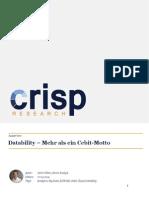 Datability – Mehr als ein Cebit-Motto