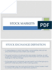 Stock Market - Functions