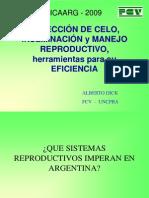 Deteccion de Celo-Inseminacion-manejo Reproductivo