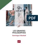 Les grandes philosophies (Que sais-je) D. Folscheid - 2011.pdf