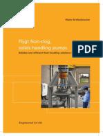 Flygt Non-Clog, Solids Handling Pumps (506)