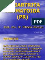 3-4 Poliartrita reumatoidă