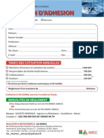IIA-Maroc AMACI - Bulletin d'adhésion 2013
