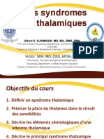 Syndromes Thalamique
