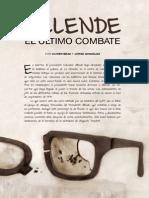 Allende El Ultimo Combte