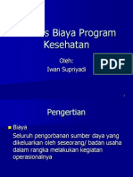 Analisis Biaya Program Kesehatan VI