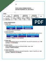 Pengumuman Pembayaran SP 2012_2013
