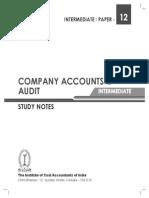 Company Accounts & Audit Intermediate-paper-12-Revised