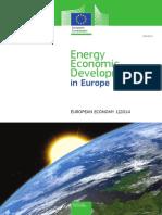 Energy Economic Developments in Europa