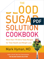 The Blood Sugar Solution Cookbook More Than 175 Ultra-Tasty Recipes for Total Health and Weight Loss