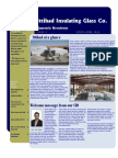 Ittihad's First Newsletter Edition April-June 2009