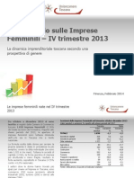 30_Report Imprese Femminili IV-2013
