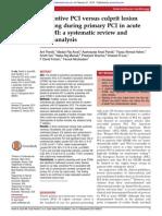 Preventive PCI