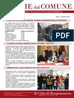 Notizie Dal Comune di Borgomanero del 6 Marzo 2014