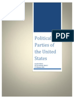 Political Parties of the Unites States by Anasha Roberts