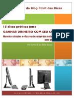 E-book - 15 dicas práticas para ganhar dinheiro com seu computador