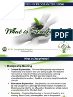 what is discipleship session 2 v4 1
