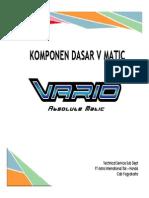 Komponen Dafsar v Matic