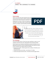 Chevron Case Study 2010