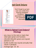 Spinal Cord Inj 1-28-11