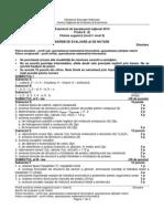E d XII Chimie Organica Niv I II Teoretic 2014 Bar Simulare LRO