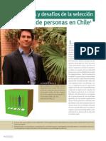 Problemas y desafíos de la selección de personas en Chile (E  Barros 2011)