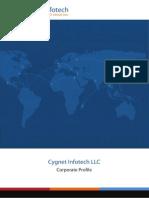 Cygnet Infotech LLC Brochure