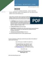 Morocco 2013 Article IV Consultation-staff Report