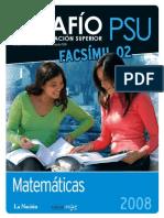 PSU Ensayo Matematica 01