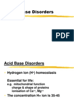 Acid Base Disorders for MBBS