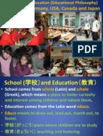 Comparative Education (Educational Philosophy)