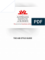 AIB Style Guide V10Jul13