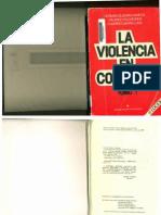Algunas Consecuencias de La Violencia